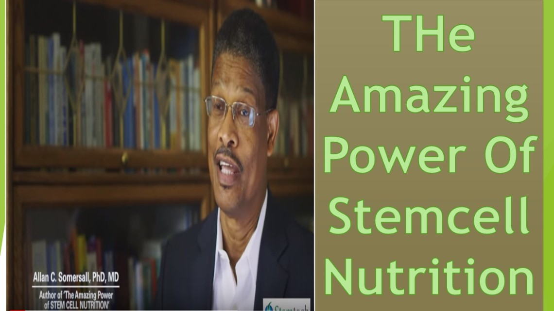 Tee Amazing Power Of Stemcell Nutrition