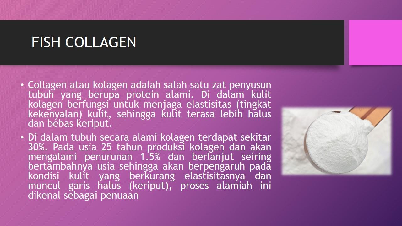Manfaat Fish Collagen Bagi Kesehatan dan Kecantikan