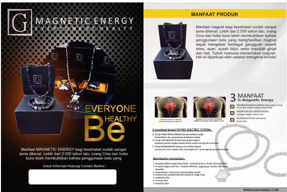 Magnetic Energy Every One Be Health 64 Manfaat Kalung Untuk Kesehatan