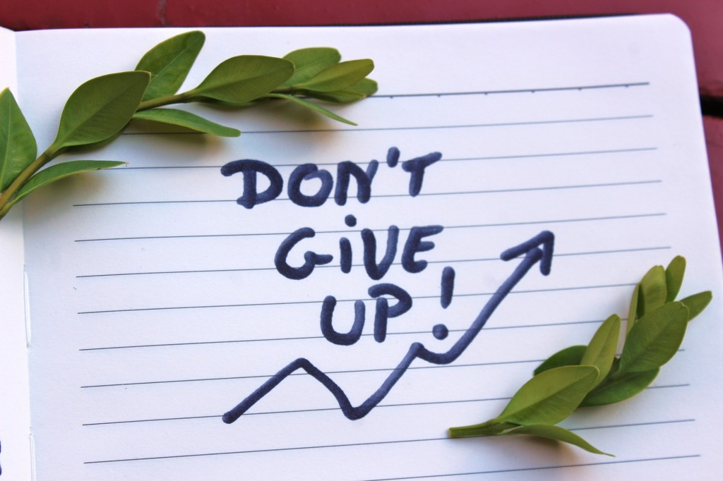 Jangan pernah berhenti dan teruslah berjalan lagi dan melangkah dengan yakin sampai memeluk impianmu.