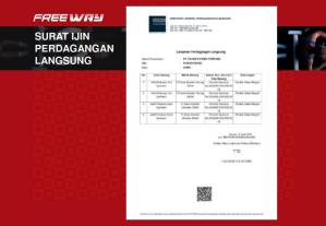 Surat Izin Usaha Penjualan Langsung merupakan surat izin usaha yang dikeluarkan oleh lembaga yang berwenang untuk usaha yang bergerak dalam bidang usaha penjualan langsung (Network Marketing) di Indonesia