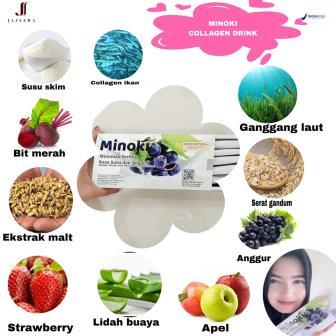 Untuk ukuran kesehatan, salah satu produk pilihan dari Jazeera adalah Minoki.  Baru membaca kandungannya, serasa kita sudah merasakan berbagai manfaat di dalamnya.
